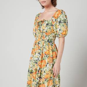 Faithfull The Brand Women's Rene Midi Dress - Pilotta Floral Print
