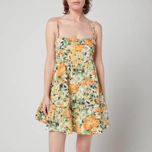 Faithfull The Brand Women's Octavia Mini Dress - Pilotta Floral Print