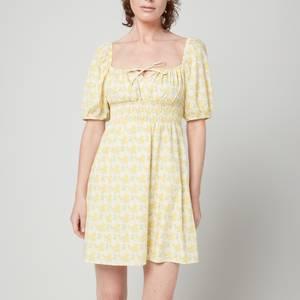 Faithfull The Brand Women's Mariette Mini Dress - Dahlee Floral Print