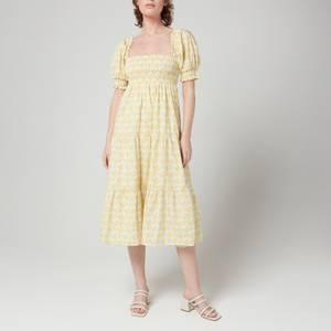 Faithfull The Brand Women's Luisa Midi Dress - Dahlee Floral Print