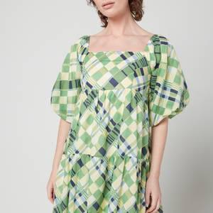 Faithfull The Brand Women's Falabelle Midi Dress - Billie Check Print