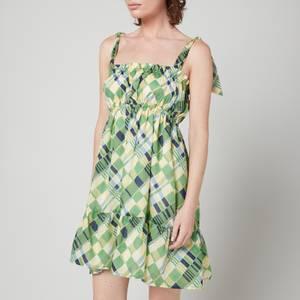 Faithfull The Brand Women's Elwood Mini Dress - Billie Check Print