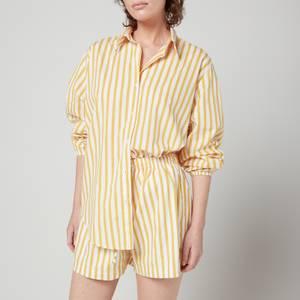 Faithfull The Brand Women's Rylen Shirt - Martie Stripe Print
