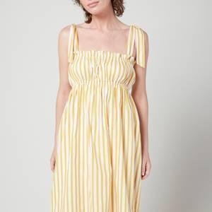 Faithfull The Brand Women's Gia Midi Dress - Martie Stripe Print