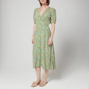 Faithfull The Brand Women's Sonja Midi Dress - Lynette Floral Print