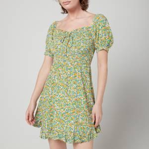 Faithfull The Brand Women's Sasha Mini Dress - Lynette Floral Print