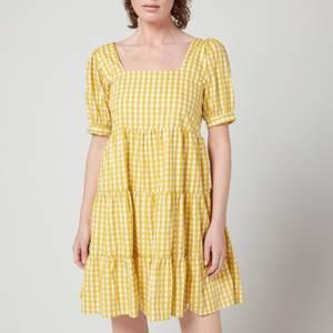 Faithfull The Brand Women's Eldora Mini Dress - Mari Check Print