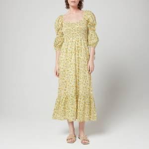 Faithfull The Brand Women's Palino Midi Dress - Rosemary Floral Print