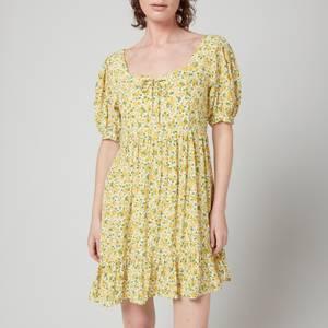 Faithfull The Brand Women's Savona Mini Dress - Rosemary Floral Print