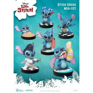 Beast Kingdom Stitch Series Mini Egg Attack Figurine 6pc Set