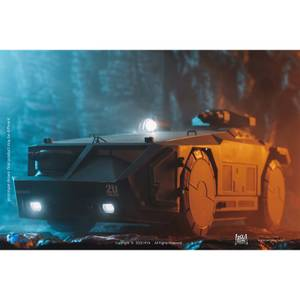 HIYA Toys Aliens Exquisite Mini 1/18 Scale Vehicle - Armored Personnel Carrier (Green Ver.)