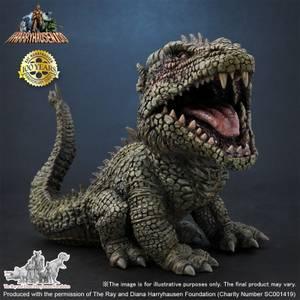 X-Plus DefoReal Series The Beast from 20,000 Fathoms Soft Vinyl Figure - Rhedosaurus (1953) (Color Ver.)