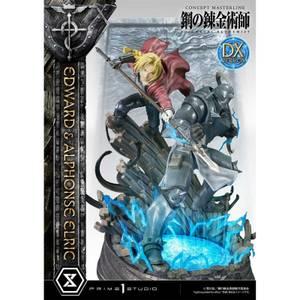 Prime 1 Studio Fullmetal Alchemist Concept Masterline Statue - Edward and Alphonse Elric (Deluxe Version)