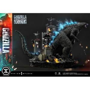 Prime 1 Studio Godzilla vs. Kong Ultimate Diorama Masterline Statue - Godzilla (Final Battle)