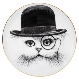 Rory Dobner Decorative Perfect Plate - Cat Hat
