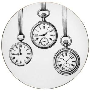 Rory Dobner Decorative Perfect Plate - Clocks - Medium