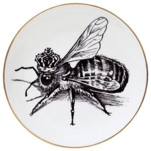 Rory Dobner Decorative Perfect Plate - Queen Bee - Medium