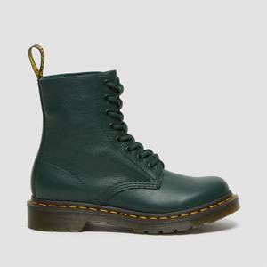 Dr. Martens Women's 1460 Pascal Virginia Leather 8-Eye Boots - Pine Green