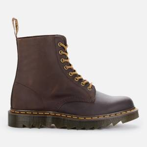 Dr. Martens Men's 1460 Pascal Ziggy Leather 8-Eye Boots - Gaucho