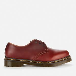 Dr. Martens Men's 1461 Waterproof Leather 3-Eye Shoes - Brown