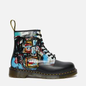 Dr. Martens X Basquiat 1460 Leather 8-Eye Boots - Black