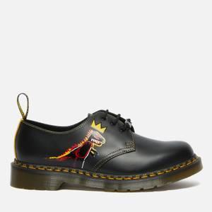 Dr. Martens X Basquiat 1461 Leather 3 Eye Shoes - Black
