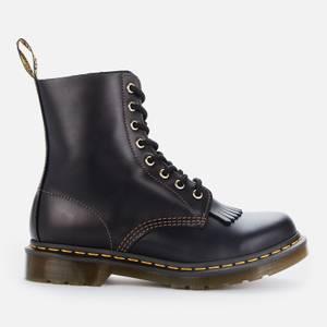 Dr. Martens Women's 1460 Pascal Waterproof Leather 8-Eye Boots - Black