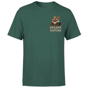 Mr. Potato Head Escape To Nature Men's T-Shirt - Green