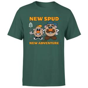 Mr. Potato Head New Spud, New Adventure Men's T-Shirt - Green