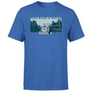 Mr. Potato Head Peel Back And Relax Men's T-Shirt - Blue