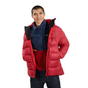 Men's Ronnas Reflect Down Jacket - Red