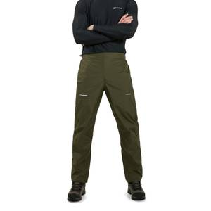 Men's Deluge Pro 2.0 Overtrousers - Green / Brown