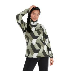 Women's Navala Half Zip Fleece Jacket - Green