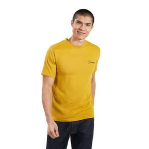 Men's Organic Colour Logo T-Shirt - Brown