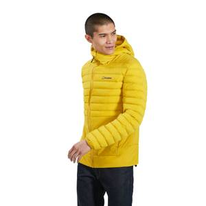 Men's Affine Insulated Jacket - Yellow