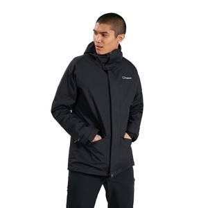 Men's Intergar 4 in 1 Jacket- Black
