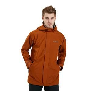 Men's Charn Waterproof Jacket - Brown