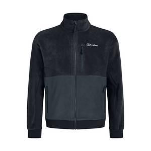 Men's Retrorise Fleece Jacket - Black / Grey