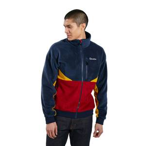 Men's Retrorise Fleece Jacket - Blue / Red