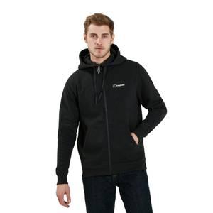Men's Logo Fleece Jacket - Black