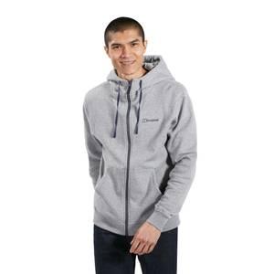 Men's Logo Fleece Jacket - Grey