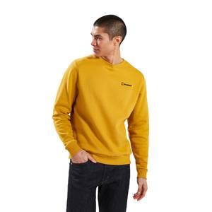 Men's Logo Crew Jumper - Yellow