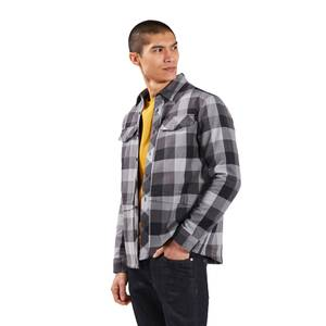 Men's Skawton Long Sleeve Shirt - Black / Grey