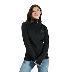 Women's Fourier Hooded Fleece - Black