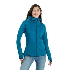 Women's Fourier Hooded Fleece - Blue