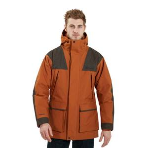 Men's Breccan Parka Insulated Jacket - Brown