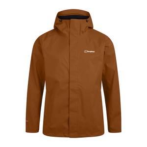 Men's Oakshaw Waterproof Jacket - Brown
