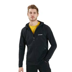 Men's Theran Hooded Fleece Jacket - Black