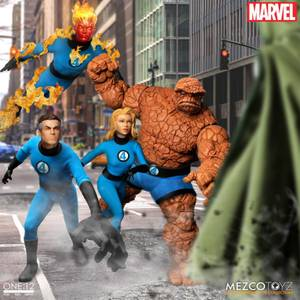 Mezco One: 12 Collective Fantastic Four Deluxe Steel Boxed Set