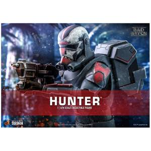 Hot Toys Star Wars: The Bad Batch Hunter 1/6 Scale Action Figure
